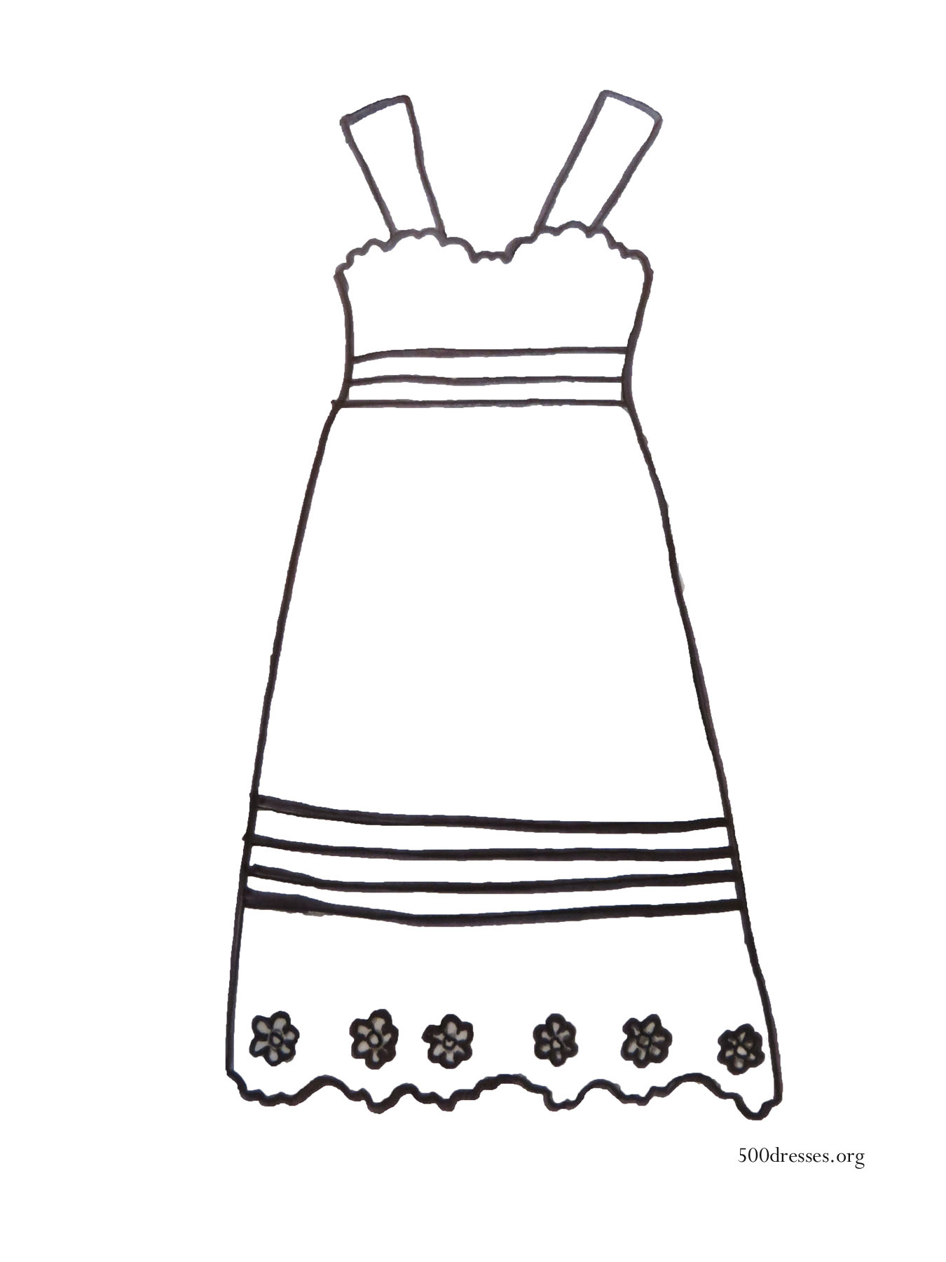 It's just a photo of Universal Dresses Coloring Pages