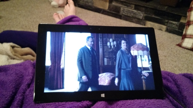 While recovering from surgery, I watch a whole season of Downton Abbey in one day :)